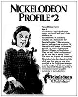 1980 CableSystem Nickelodeon Profile -2 ad