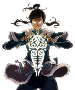 Korra Complete Series textless artwork