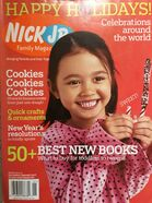 Nick Jr Family Magazine cover Dec Jan 2007