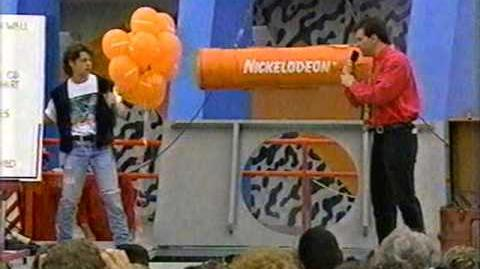 Burial of the Nickelodeon Time Capsule 4 30 92 c