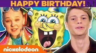 Happy Birthday, SpongeBob! 🎉 Jonas Brothers, Jace Norman & More CELEBrate! TBT