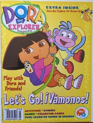 Dora Explorer Special 1 Magazine Fall Winter 2002