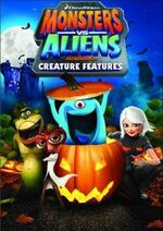 Monsters Vs. Aliens - Creature Features 2014 DVD Cover (Redbox Exclusive)
