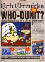 Rugrats Mystery Adventures Print Advertisement