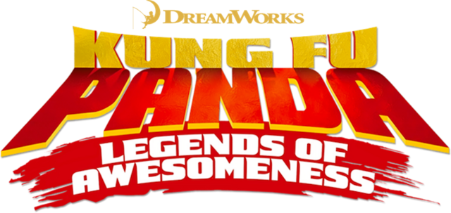 File:Kung Fu Panda - Legends of Awesomeness logo.png