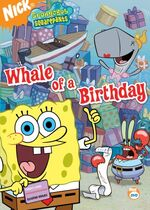 SpongeBob DVD - Whale Of A Birthday