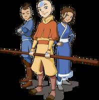 The original Team Avatar