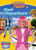 LazyTown - New Superhero DVD Cover