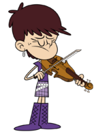 Luna Loud violin