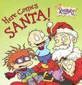 Rugrats Here Comes Santa! Book
