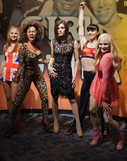 Spice Girls at Madame Tussaud's New York