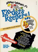 Finders Keepers Print Advertisement