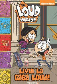 The Loud House 8 - Livin' la Casa Loud cover