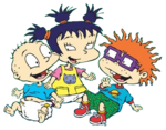 Tommy Pickles Chuckie Finster and Kimi Finster-Easter