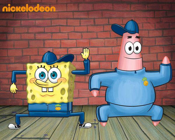 File:SpongeBob Dance Wallpaper.jpg