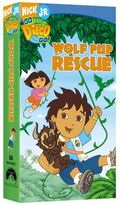 Go Diego Go! Wolf Pup Rescue VHS
