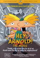 Hey Arnold! The Movie DVD Australia 2003