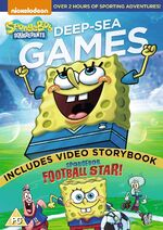 SpongeBob Deep-Sea Games DVD