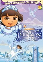 Dora the Explorer Dora Saves the Snow Princess DVD 2