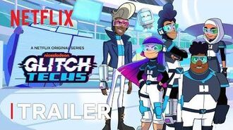 Glitch Techs New Series Trailer Netflix Futures