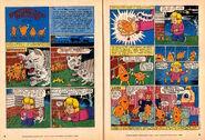 Nickelodeon Magazine comic October November 1994 Southern Fried Fugitives