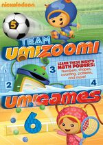 Team Umizoomi Umigames DVD