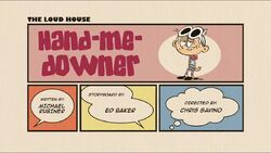 HandMeDowner - Title