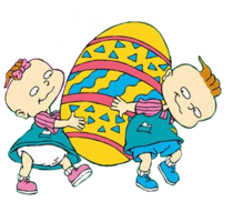 Phil and Lil DeVille-Easter