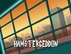 Hamstergeddon Title Card
