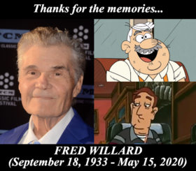 In Memory of Fred Willard