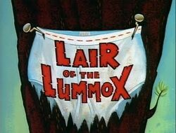 Lair Of The Lummox Title Card