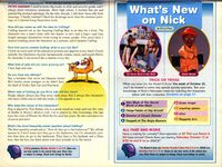 Nickelodeon Magazine October 1998 CatDog Peter Hannan interview pg 2