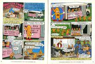 Southern Fried Fugitives NickMag comic Sept 1996