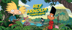 Hey Arnold Jungle Movie banner
