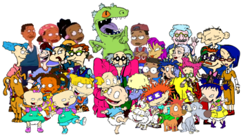 The Wole Rugrats Main Character cast