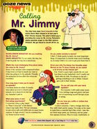 Nickelodeon Magazine March 2001 Pelswick David Arquette interview Mr Jimmy