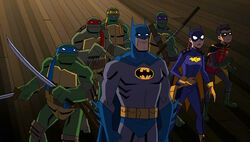 Batman vs TMNT screenshot