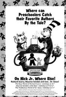 Nick Jr. Favorite Authors Print Advertisement