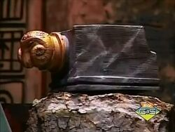 The Marble Armrest of Xerxes