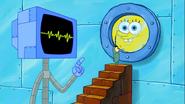 SpongeBob SquarePants Karen the Computer and Plankton S9A