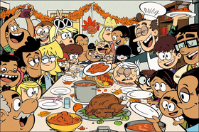 The Loudest Thanksgiving promo