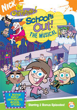 Fairly Odd Parents DVD - School's Out The Musical