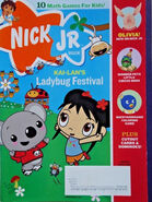 Nick Jr Magazine cover Feb March 2008