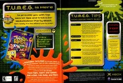Nickelodeon Party Blast print ad NickMag Nov 2002