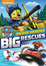 Big Heroes Big Rescues DVD