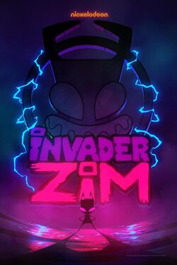 Invader Zim Enter the Florpus poster