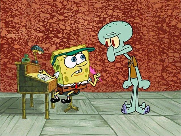 File:SpongeBob writing Squidward's letter.jpg