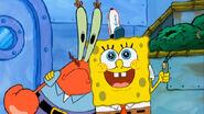 Spongebob mr krabs and plankton