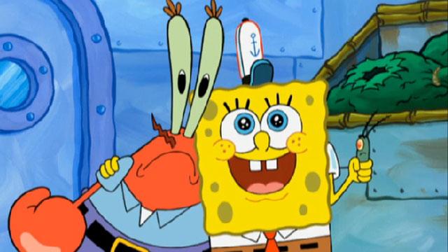 File:Spongebob mr krabs and plankton.jpg