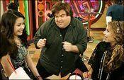 Dan Schneider with Miranda & her friend